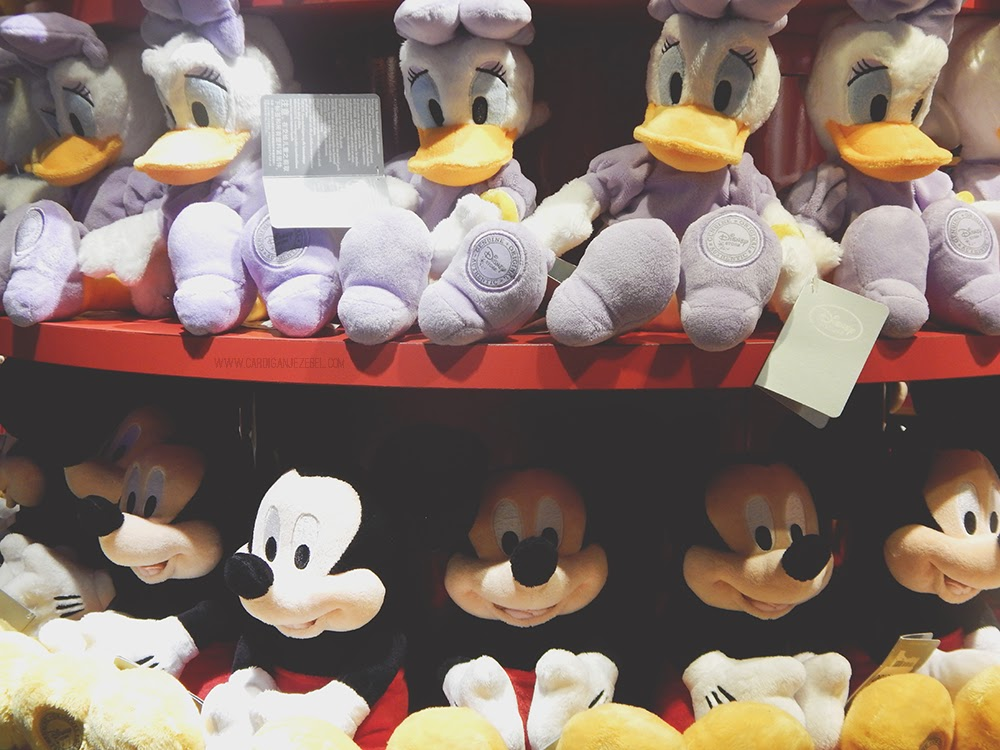 Disney Store Daisy Duck Mickey Mouse