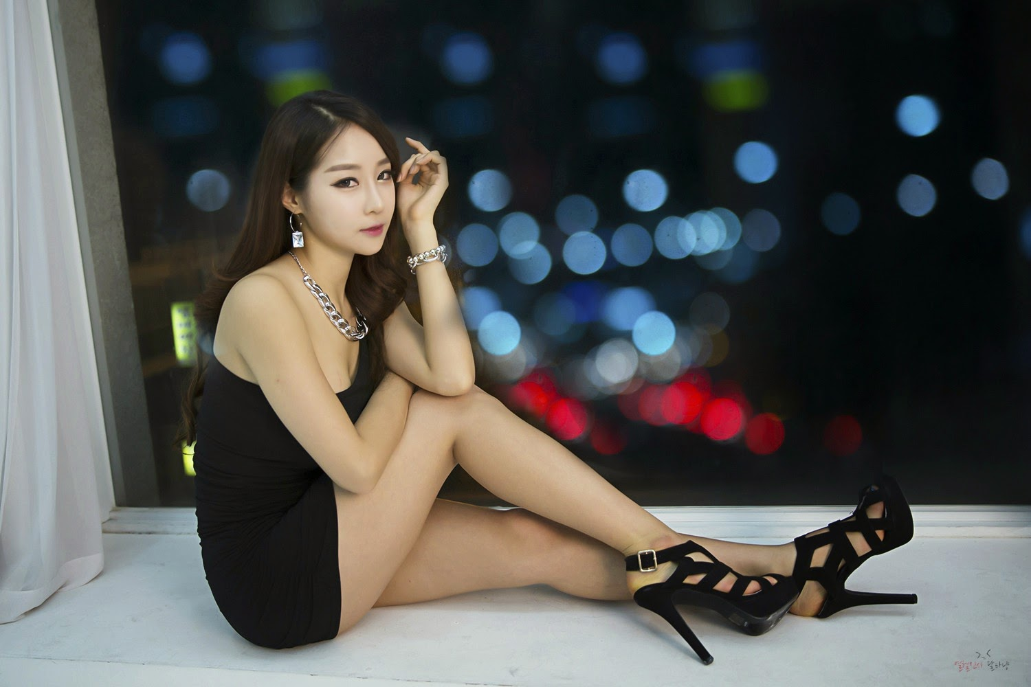 3 Lovely Eun Ji Ye In Studio Photo Shoot - very cute asian girl-girlcute4u.blogspot.com