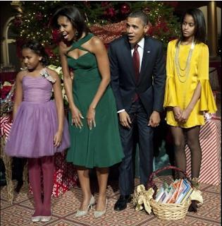 michelle obama malia obama sasha obama 2012 fashion