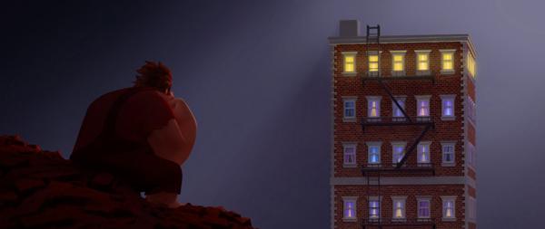 Ralph, solo, grattacielo
