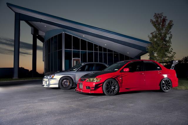 Subaru Impreza II GD & Mitsubishi Lancer Evolution, japoński sportowy sedan, boxer, AWD