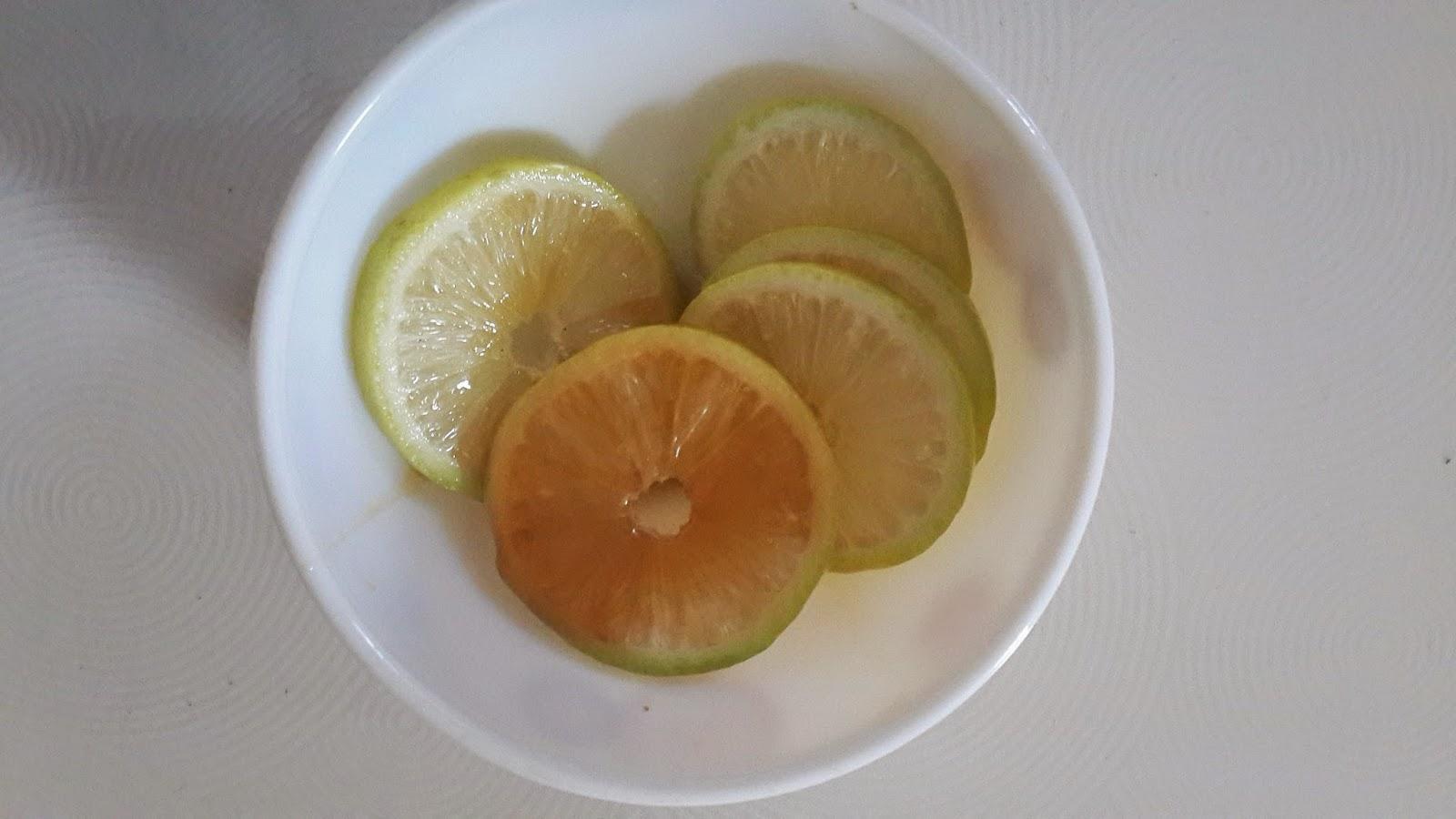tips cantik guna madu dan lemon