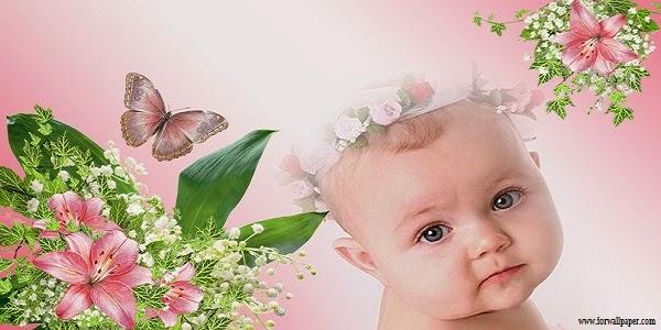 Photo de couverture facebook bébé mignon