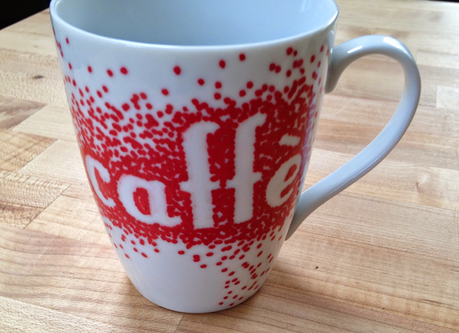 Of sage and sepia diy sharpie mugs update 12 for How to paint a mug
