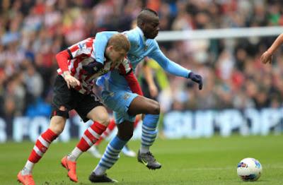 Prediksi Skor Manchester City vs Sunderland 6 Oktober 2012