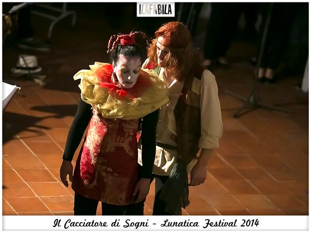 Il Cacciatore di Sogni - Ragazzo e Saltimbanco - Lunatica Festival 2014