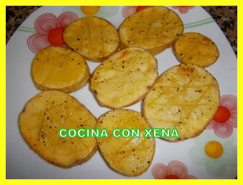 Cocina con xena patatas asadas en microondas for Comidas hechas en microondas