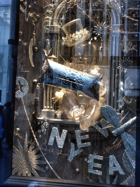Happy New Year, #holidaysonice #bgwindows #5thavenuewindows NYC 2013