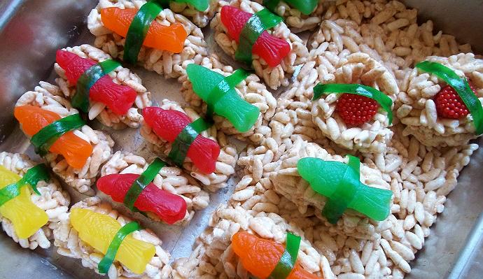 Sushi Krispies
