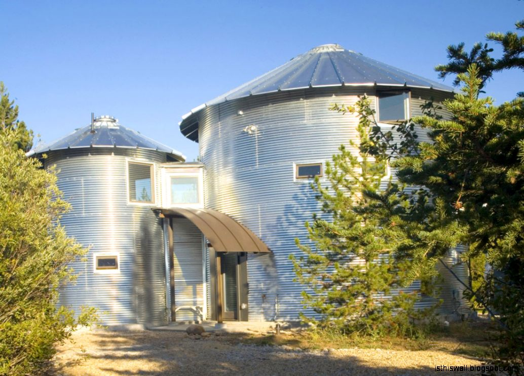 Build An Inexpensive Home Using Grain Silos  iDesignArch