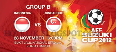 Indonesia vs Singapore AFF CUP 2012