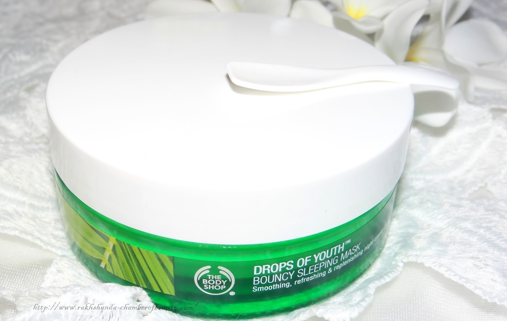 The Body Shop Drops of Youth Bouncy Sleeping mask- Review, Photos, Price