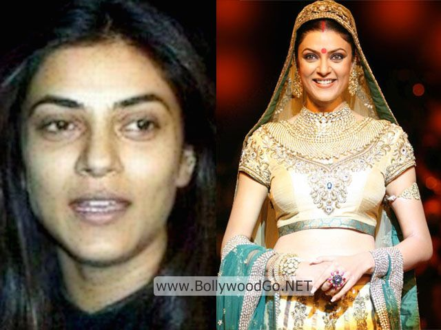 Sushmita Sen Real Life Pictures without Makeup