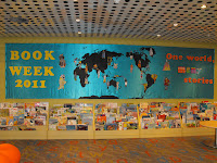 Cronulla Library Book Week Display