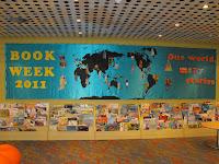 Cronulla Library Book Week Display