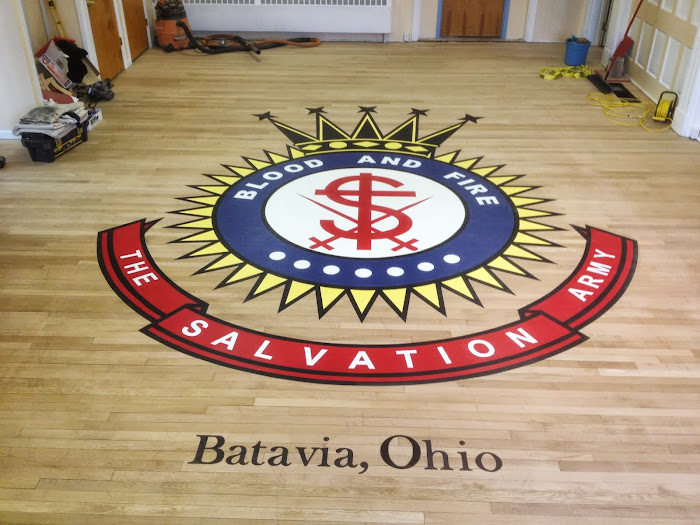 Batavia's Salvation Army floor