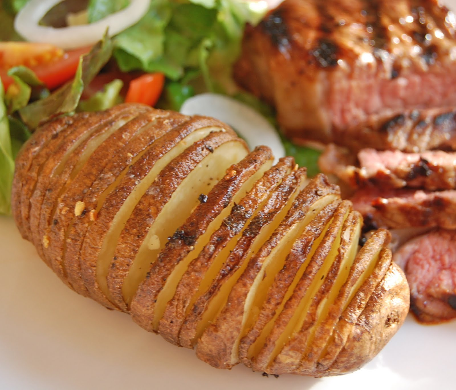 Chef Mommy: Hasselback Potatoes