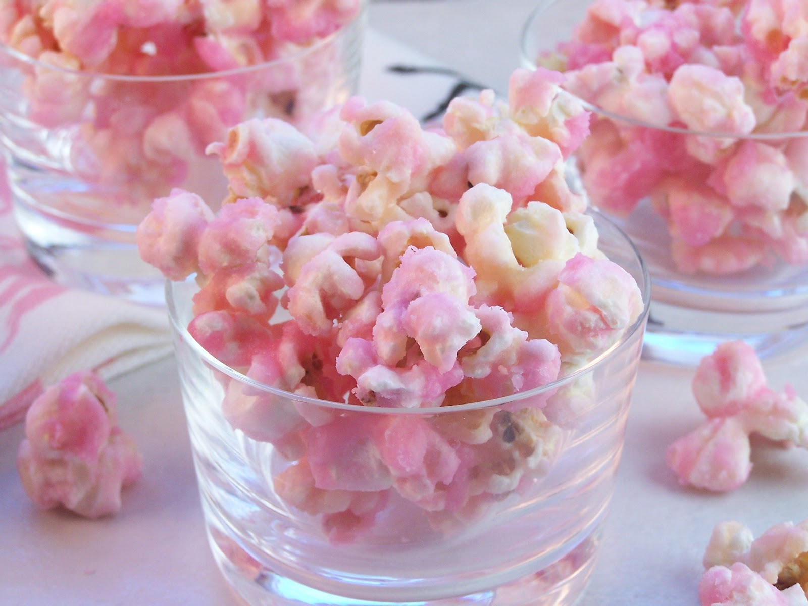 how to make pink popcorn uk