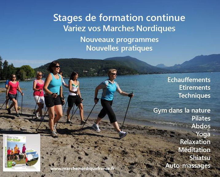 Formation Continue Marche Nordique