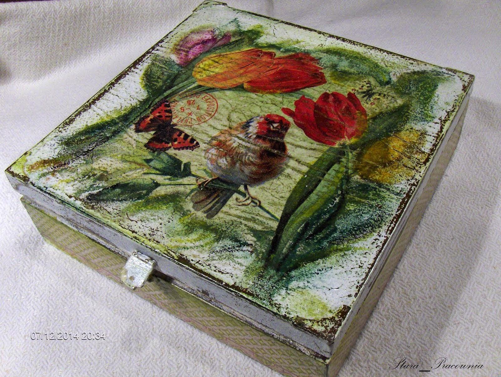 Ptaszki w pudełeczku