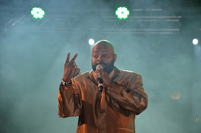Barry White Experience am Linzer Krone Fest 2013. Foto: Florian Glechner.