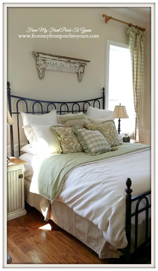 Farmhouse Bedroom-Farmhouse Model Home-Trendmaker Homes- From My Front Porch To Yours