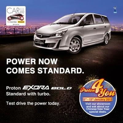 Proton Exora Bold Standard - Kini Dengan Kuasa Turbo! - Harga Lebih Murah!