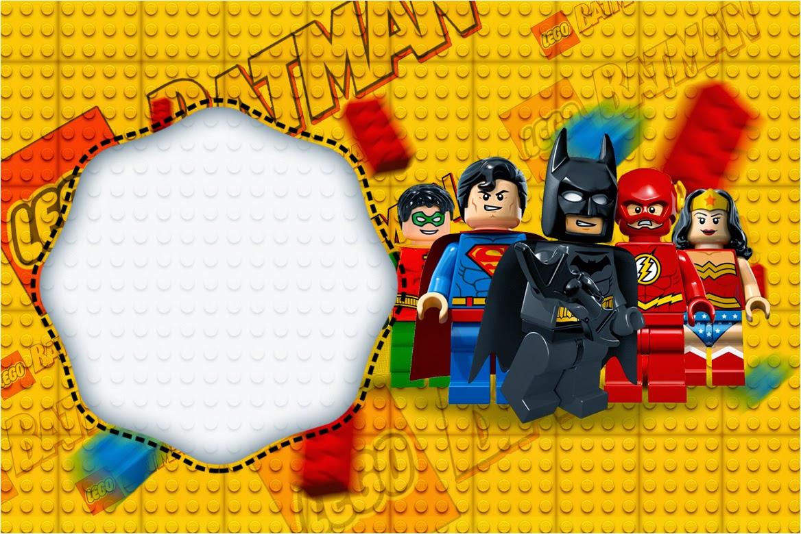 Lego Movie: Free Printable Invitations. | Is it for PARTIES? Is it ...