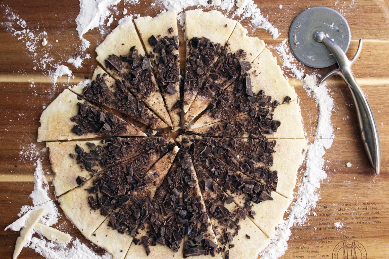 chocolate rugelach // sevengrams