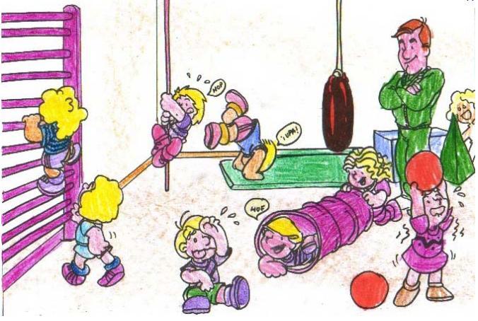 Dibujos de niños en educacion fisica - Imagui