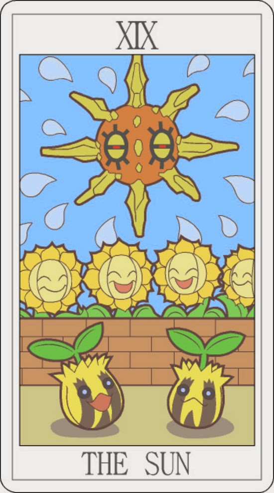 Pokemon Tarot - The Sun
