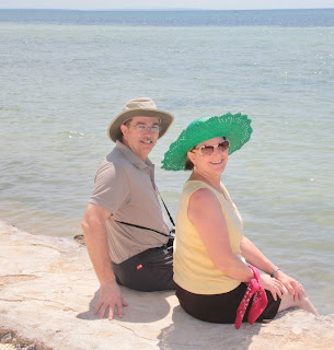 Tom Savage and Margot Savage in Daanbantayan, Cebu, Philippines