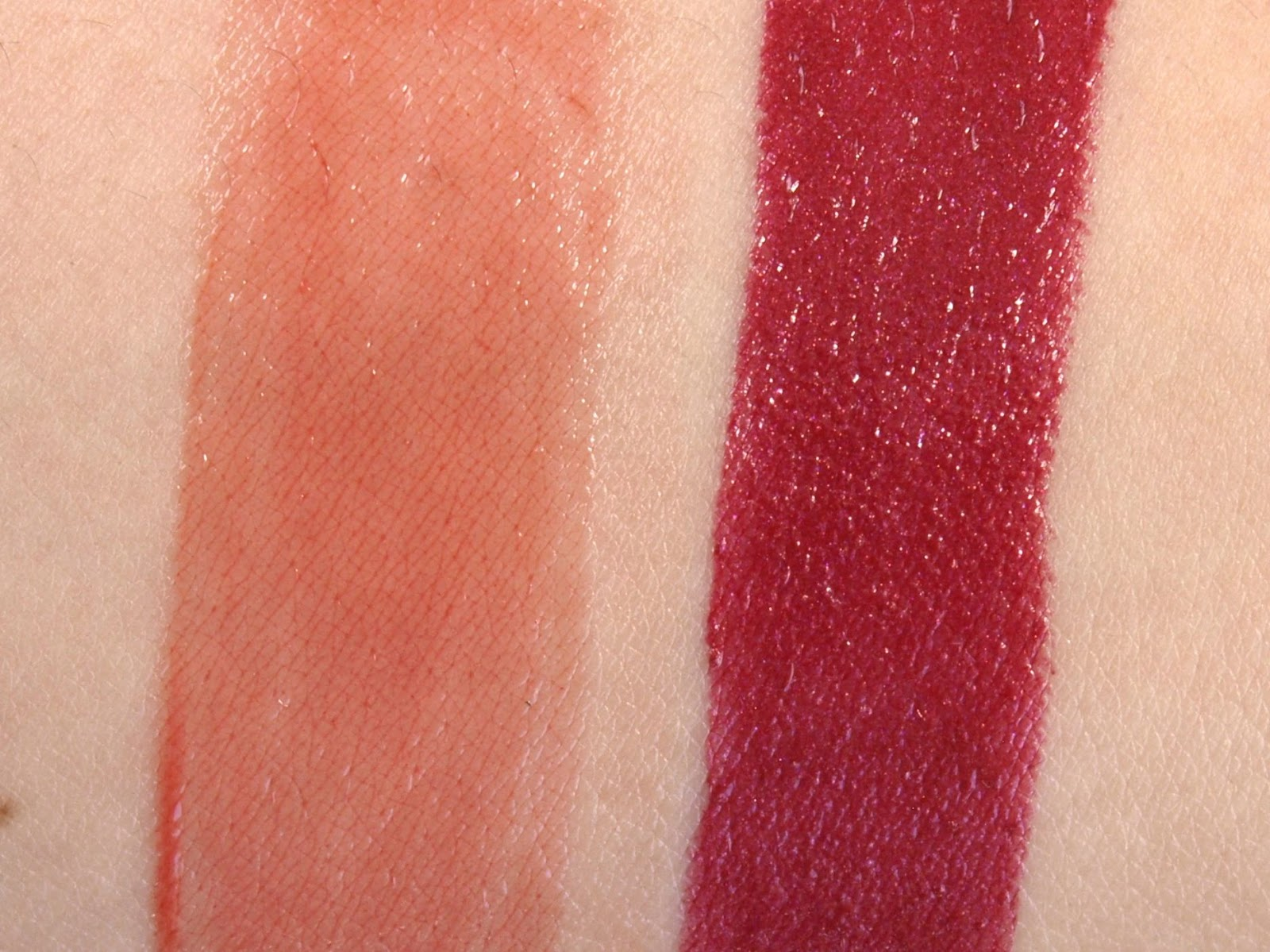 """Fall Lips with YSL: Yves Saint Laurent Rouge Volupté Perle in """"113 Iridescent Burgundy"""" & Volupté Sheer Candy in """"7 Sweet Fig"""" Review and Swatches"""