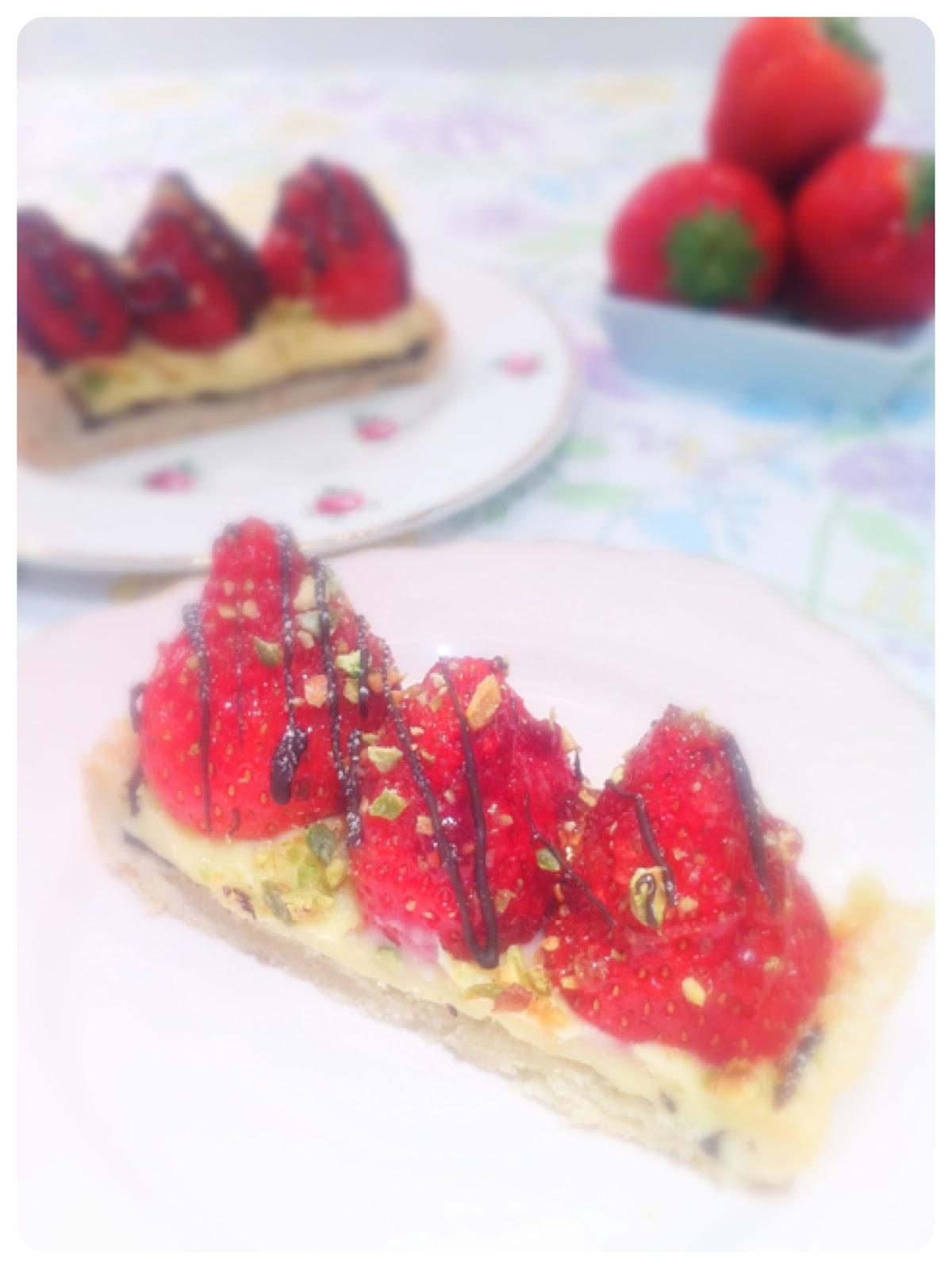 Strawberry Tart | Chérie Kelly