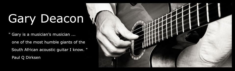 Gary Deacon - Solo Guitarist