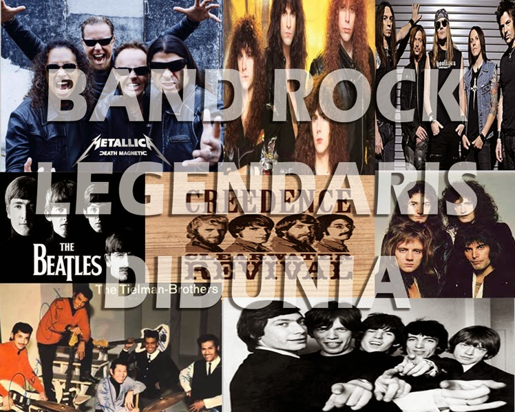band rock legendaris terbaik dunia