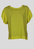 Tricou ZARA Polly Yellow (ZARA)