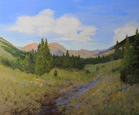 """Susan Fowler Fine Art: """"A Crested Butte Summer"""" Original ..."""