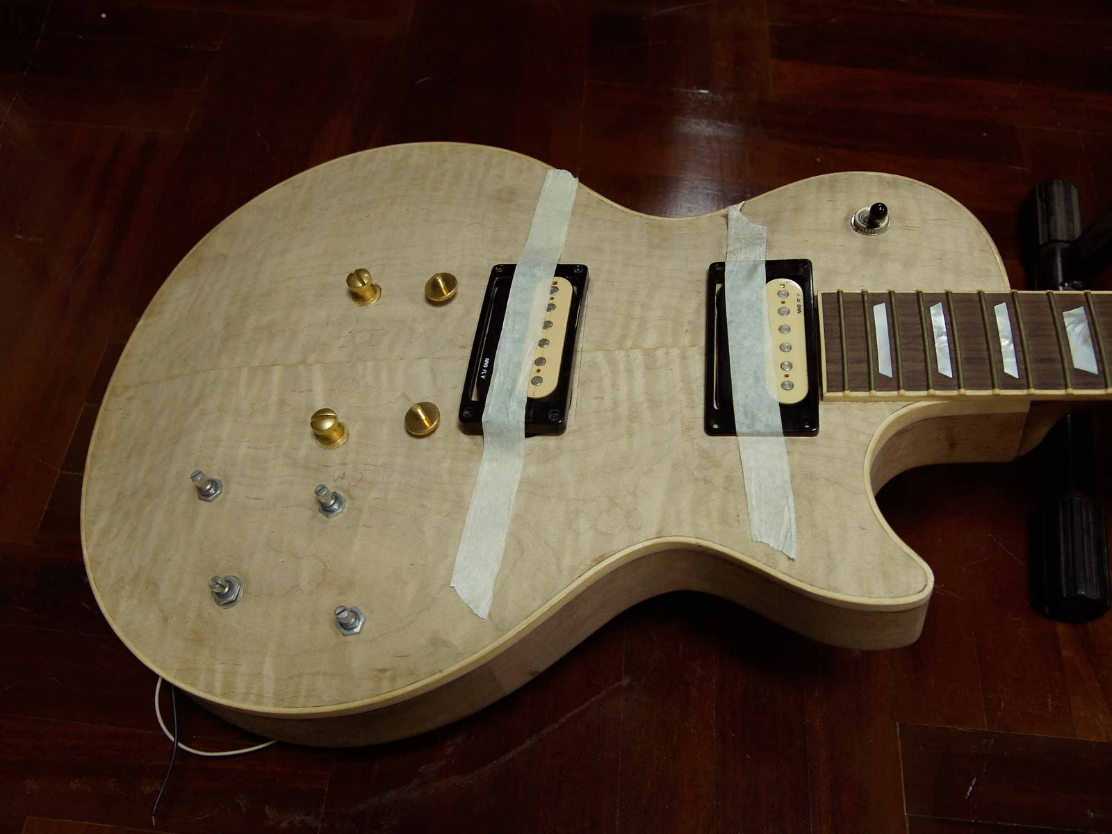 bill delap custom guitars double neck