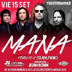 """MANA """"Tributo en Lima-Norte"""" (Suburbio)"""