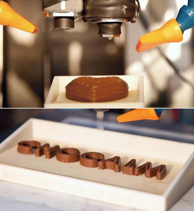 impressora de chocolate