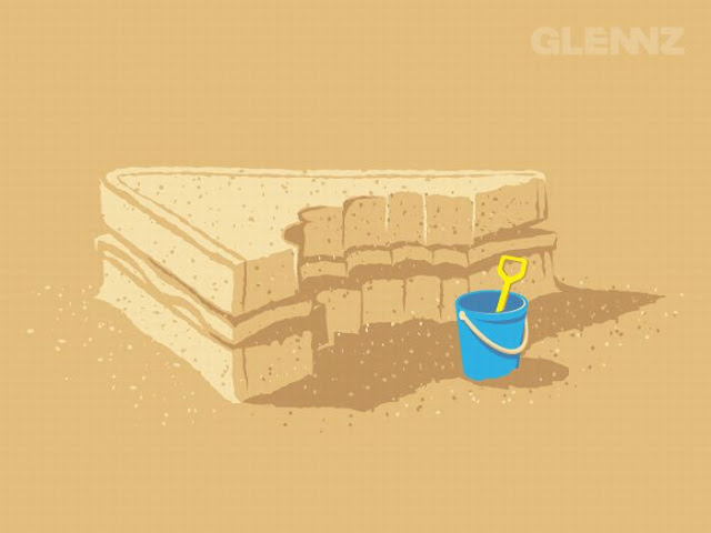 Awesome Illustrations , funny posters  by Glennz