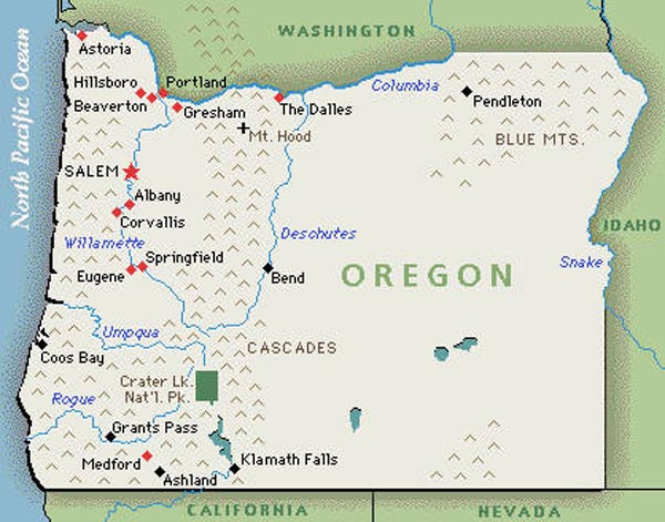 Oregon Travel Informations  Travel Informations  Tips