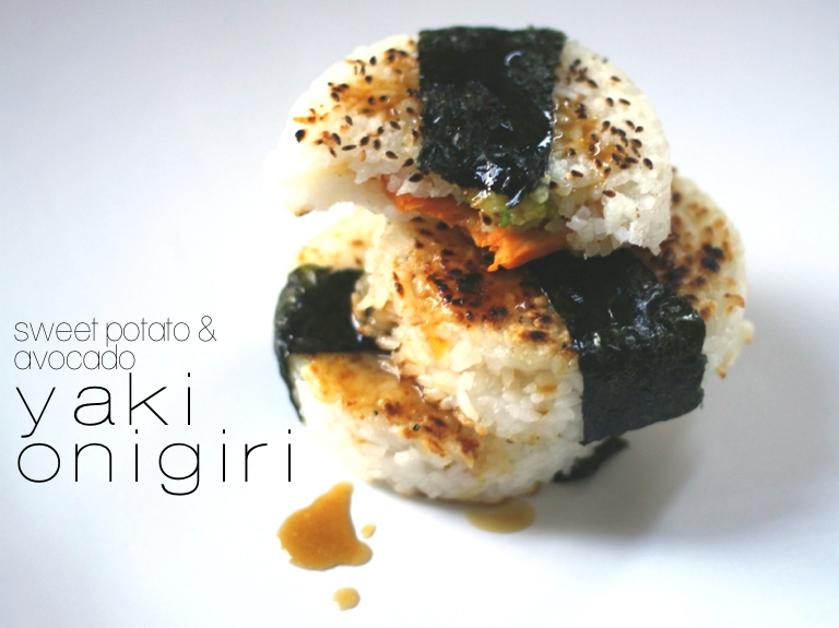 Brown Rice Yaki Onigiri With Bacon And Avocado Recipes — Dishmaps