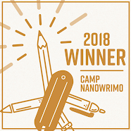 Winner of the 2018 Camp National Novel Writing Month