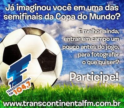 "Concurso Cultural  ""Viva a Copa da sua vida """