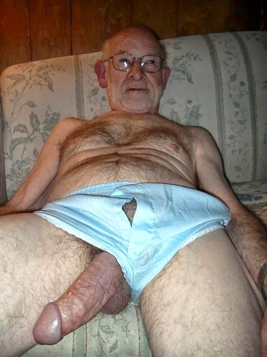 Gay gandpa porn
