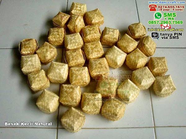 besek kecil natural Bambu Lidi Tangerang 711314