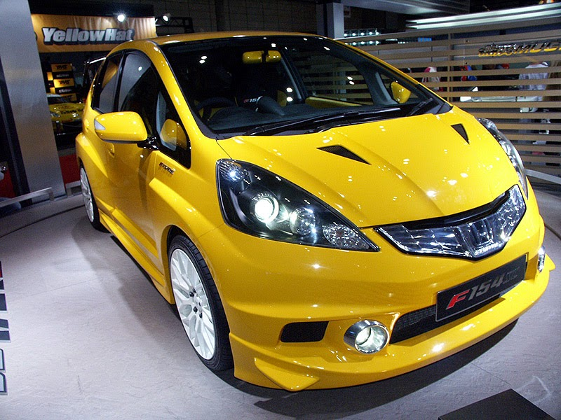 modifikasi mobil Honda jazzmugen