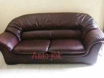 sofa 2siter  kulit